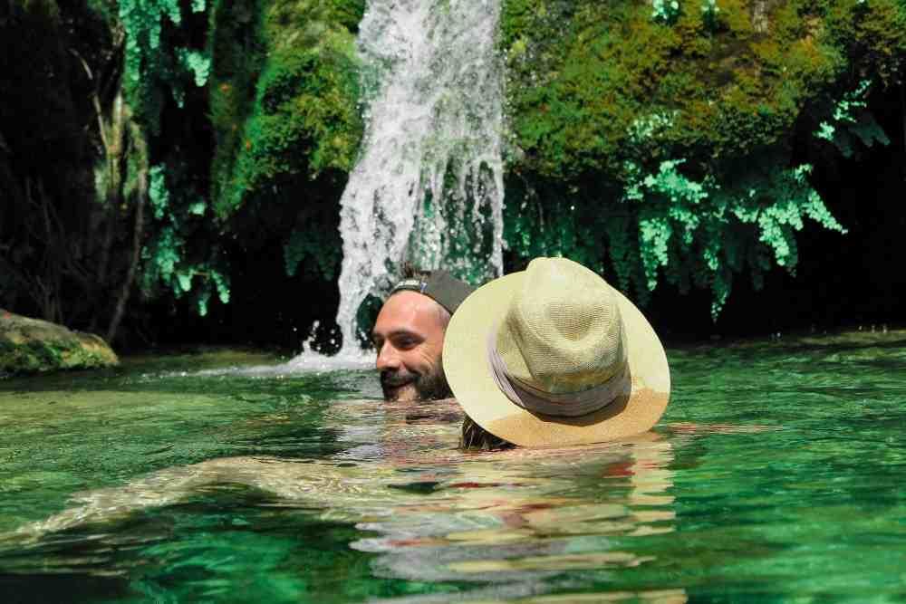 Tour to swim in hidden waterfalls in Skadar Lake