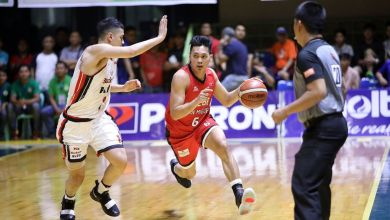 Photo of Brgy. Ginebra vs Blackwater game in Bataan to be moved to a later date