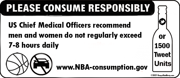 Consume the NBA Responsibly