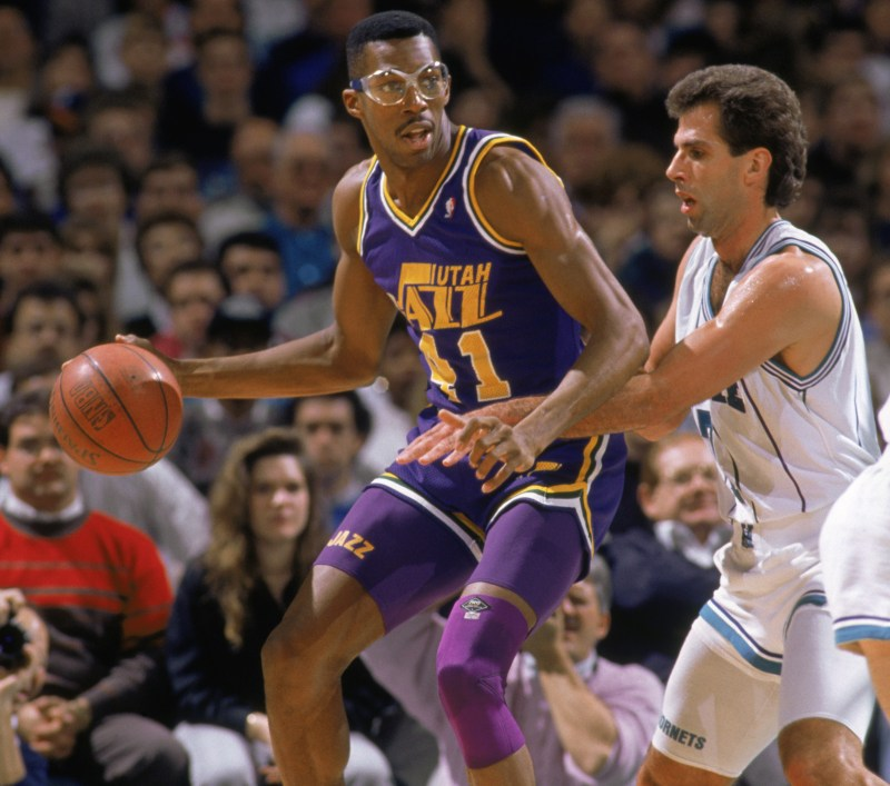 Thurl Bailey vs Kelly Tripucka
