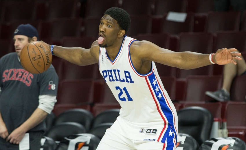 Image result for joel embiid and ben simmons