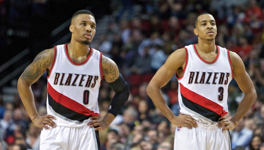 Image result for portland trail blazers team 2017