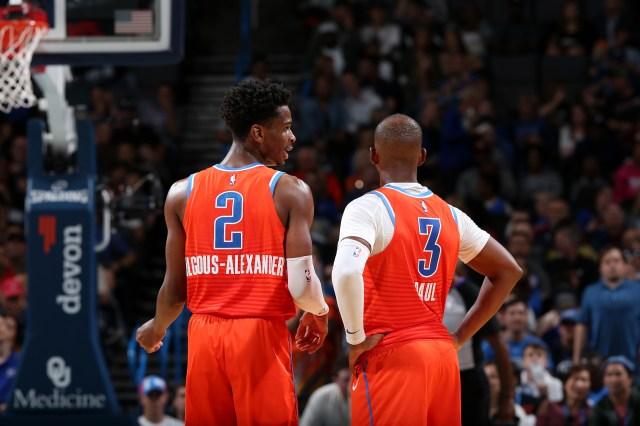 Oklahoma City Thunder: Shai Gilgeous-Alexander not team's best guard