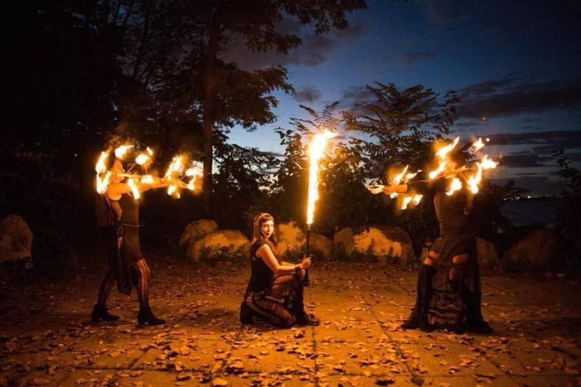 Hoopsie Daisies Fire Shows