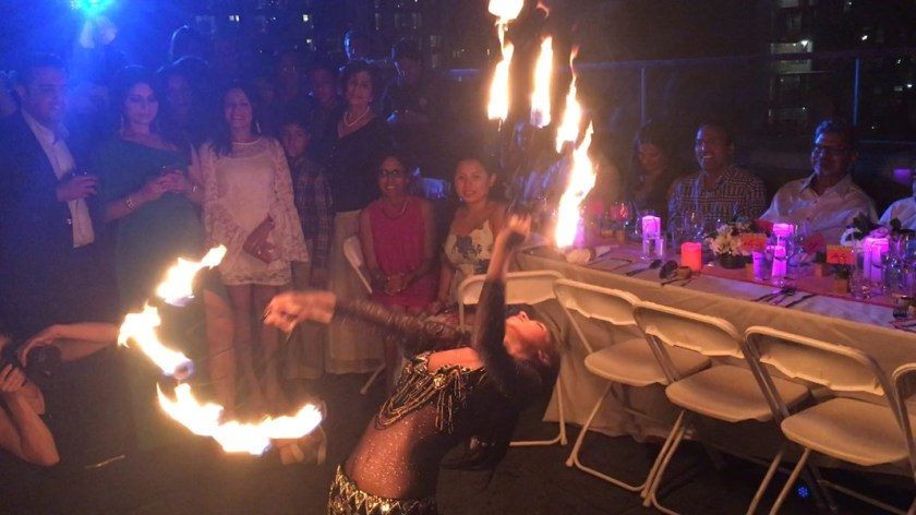 Professional Fire Dancers