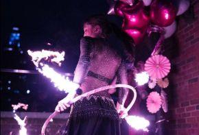 Sweet 16 Fire Dancer