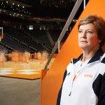 Pat Summitt Moving Without Basketball Drills