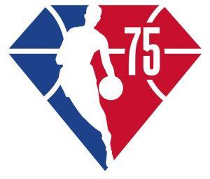 NBA 75th anniversary logo
