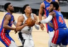 Spurs Pistons