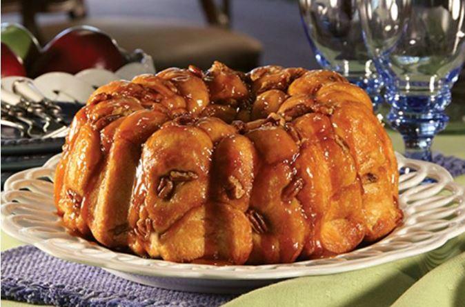 Buttersctoch Bubble Loaf Recipe - Hooray for Moms