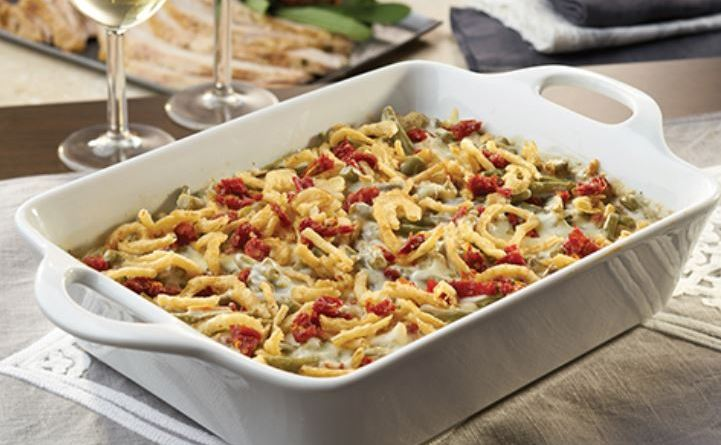 Green Bean Casserole Italiano - Hooray for Moms
