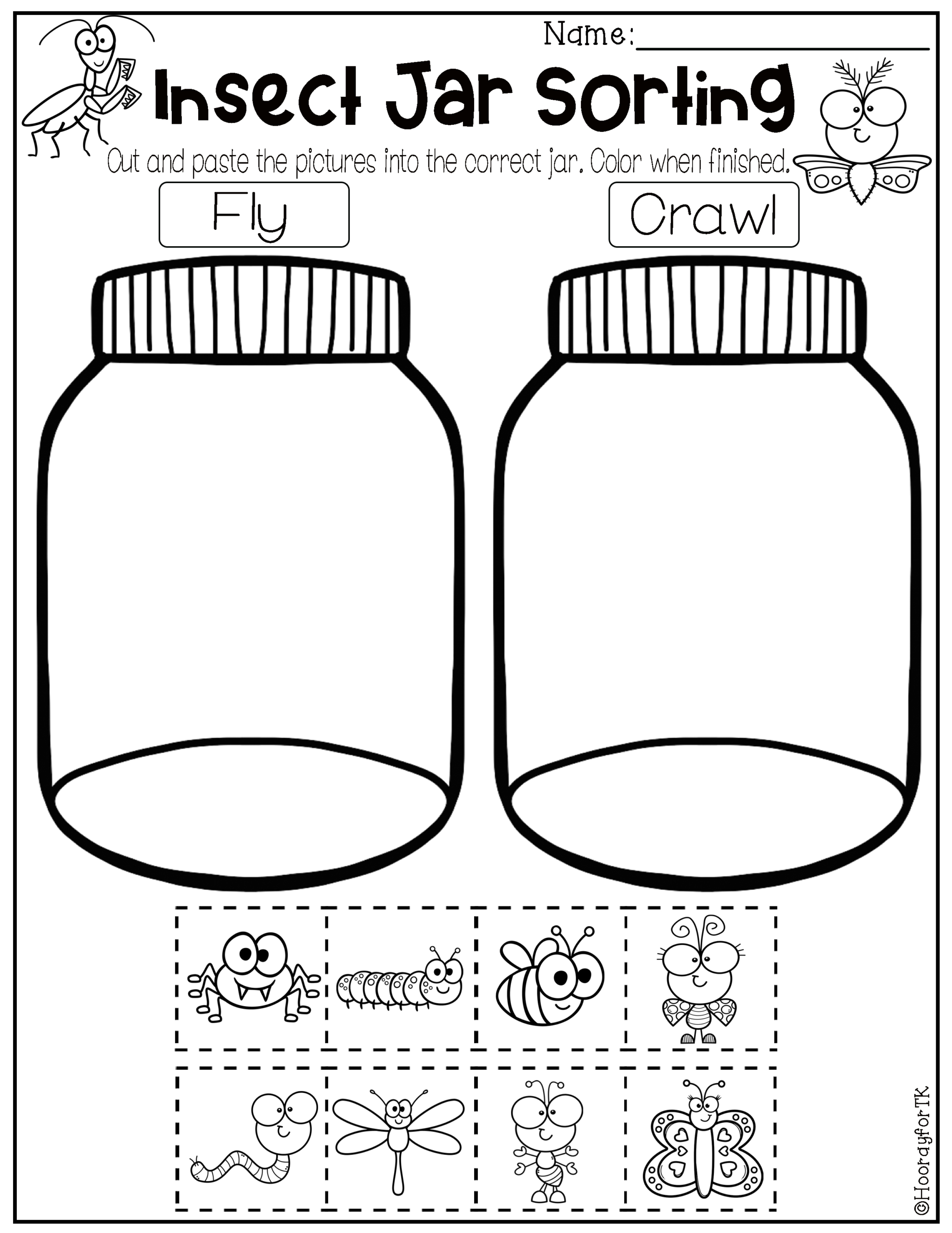 Transitional Kindergarten May Worksheets