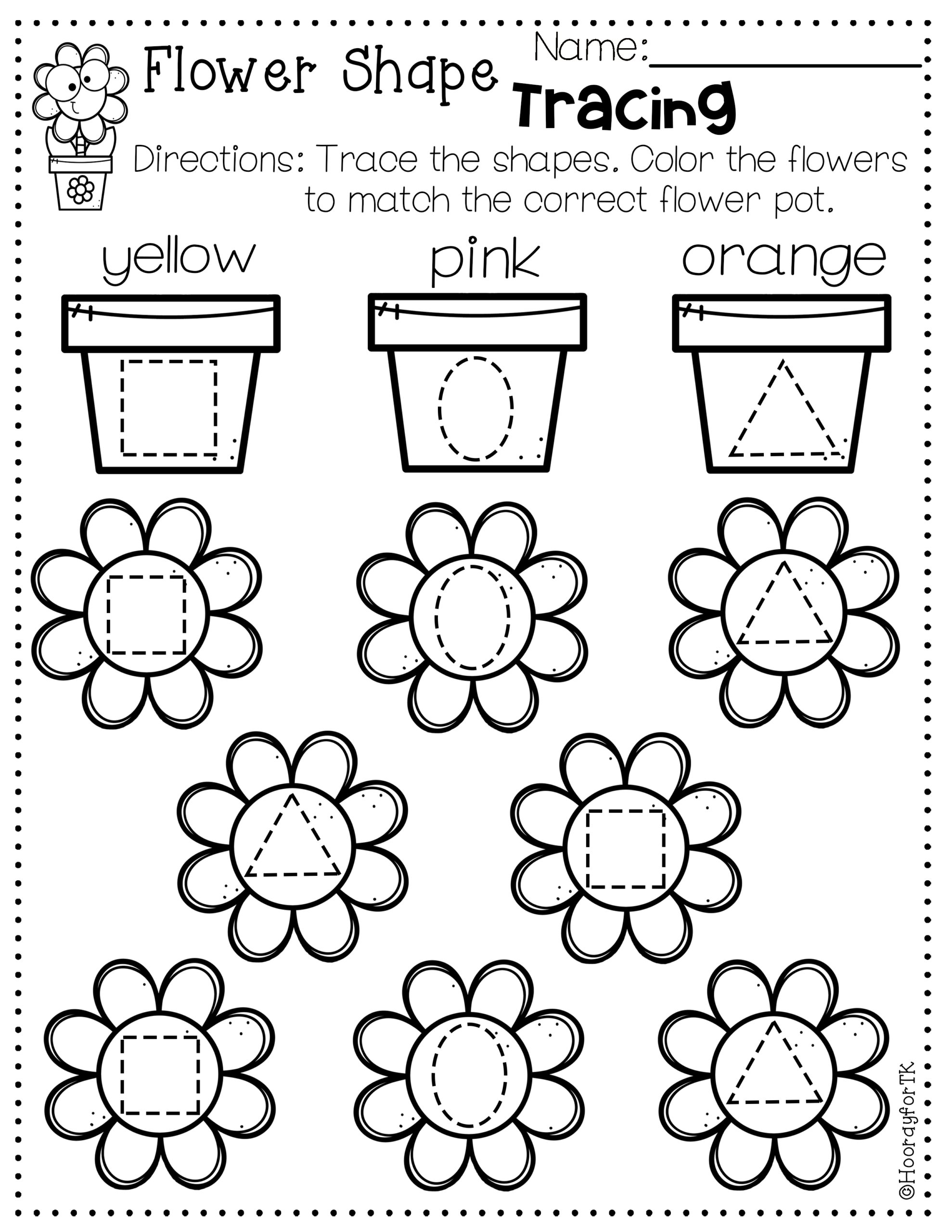 Transitional Kindergarten May Worksheets   Hooray for TK