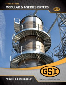 GSI Modular Tower Dryer