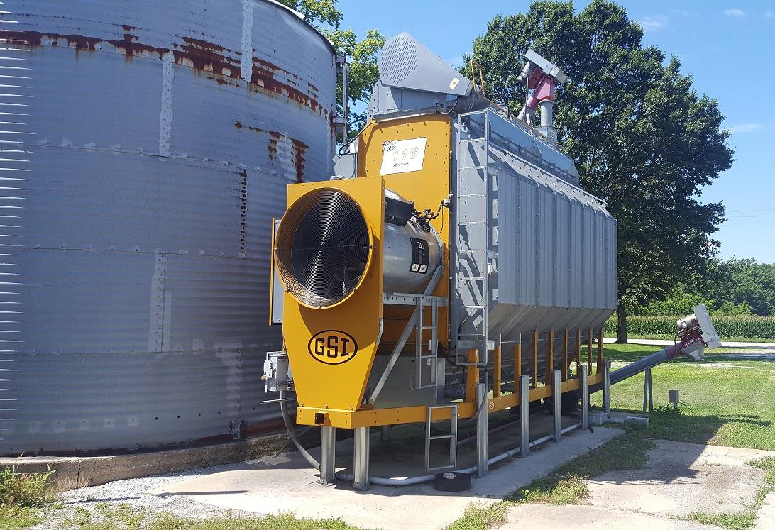 2009 GSI Competitor Series Grain Dryer