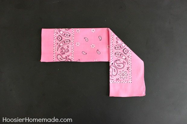 How to Fold a Bunny Napkin :: Instructions on HoosierHomemade.com