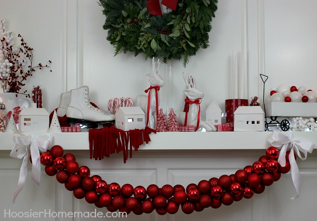 DIY Ornament Garland 100 Days Of Homemade Holiday