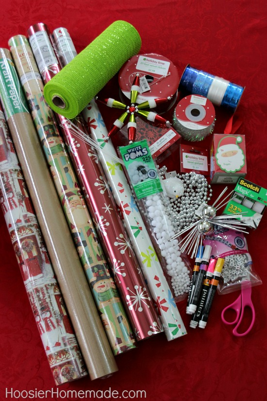 Creative Gift Wrapping - Hoosier Homemade