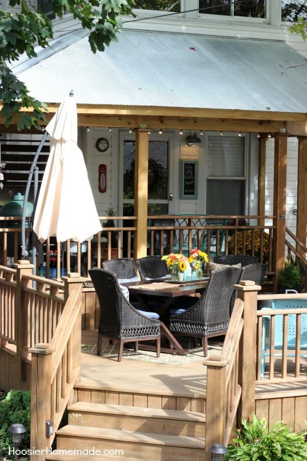 Deck Inspiration Ideas - Hoosier Homemade on Deck Inspiration  id=94650