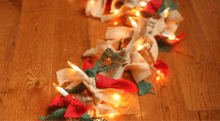 Paper Christmas Lights Garland 100 Days Of Homemade