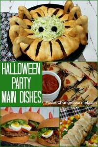 halloween sign that says main dish