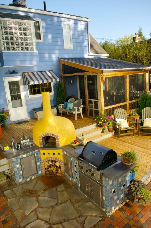 Deck Inspiration Ideas - Hoosier Homemade on Deck Inspiration  id=72600