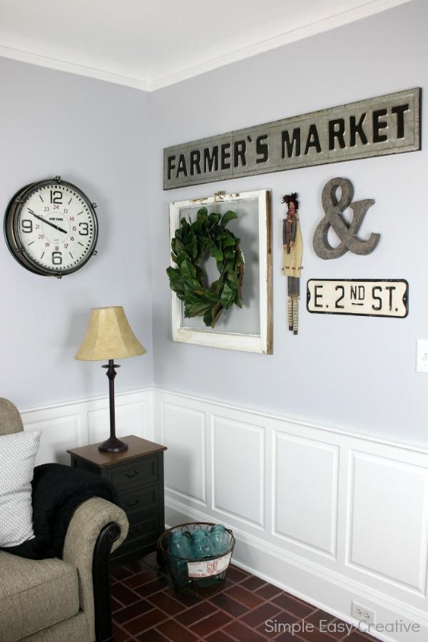 Modern Farmhouse Living Room Makeover - Hoosier Homemade