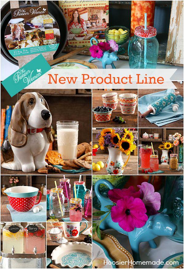 Pioneer Womans New Product Line Hoosier Homemade