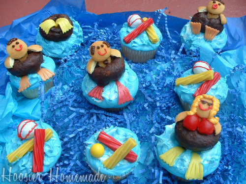 Cupcake Tuesday Pool Cupcakes Hoosier Homemade