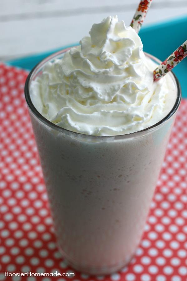 Vanilla Bean Frappuccino Hoosier Homemade