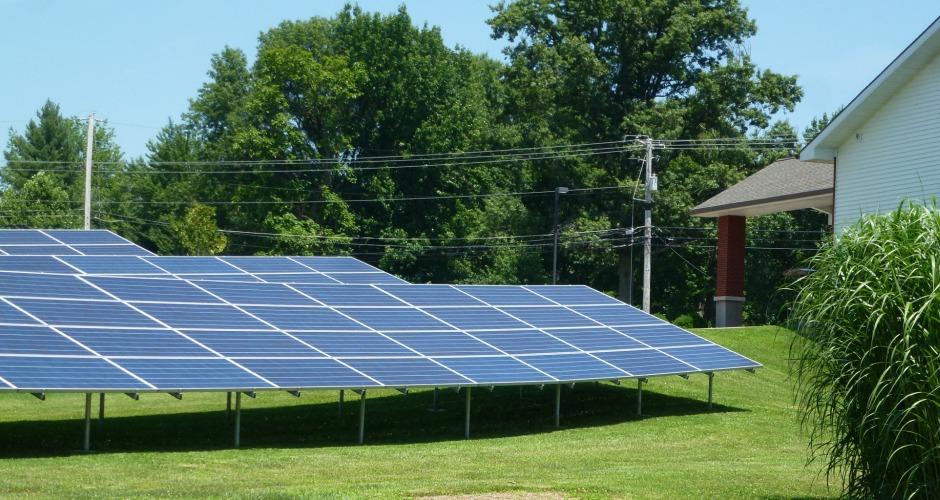 Bethlehem UCC Evansville Solar panels, Indiana solar congregation, H-IPL