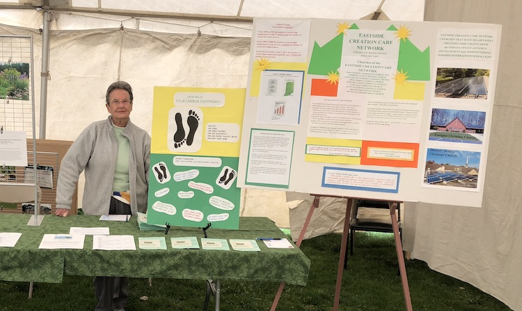 Eastside Creation Care Network at Military Park, Earth Day 2018