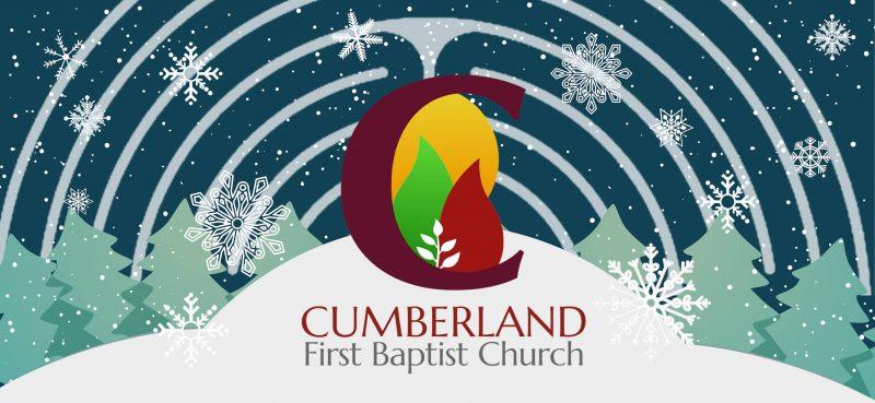 Winter Solstice Labyrinth Walk 2018 Cumberland Baptist Church