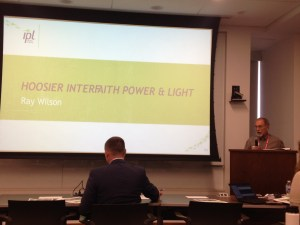 Ray Wilson Speaks at the Indianapolis Power & Light Integrated Resource Plan