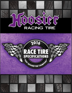 Hoosier Tire 2016 Catalog
