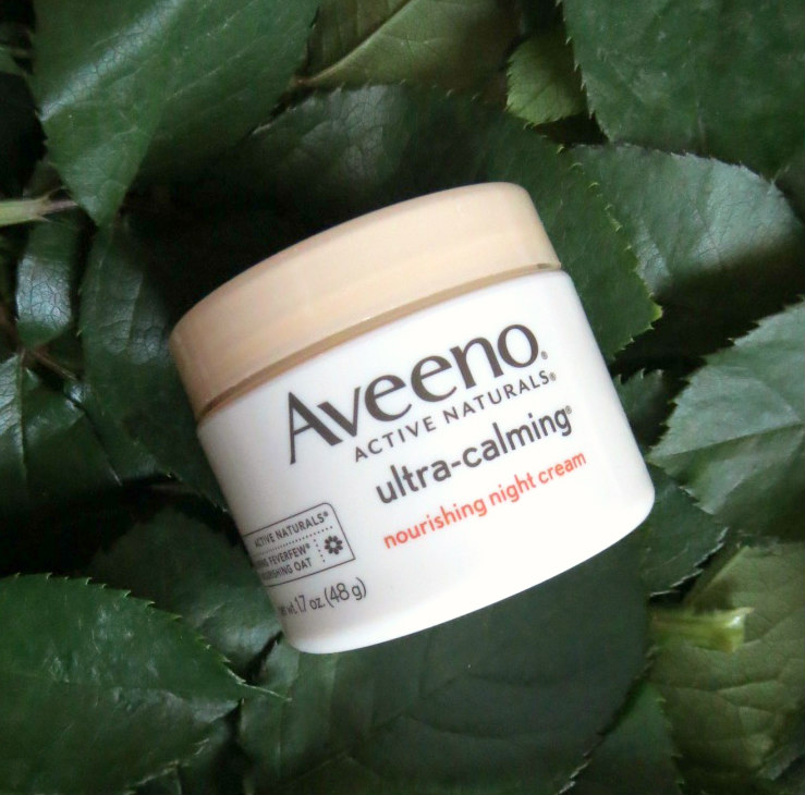 Aveeno Ultra-Calming Foaming Cleanser and Nourishing Night Cream