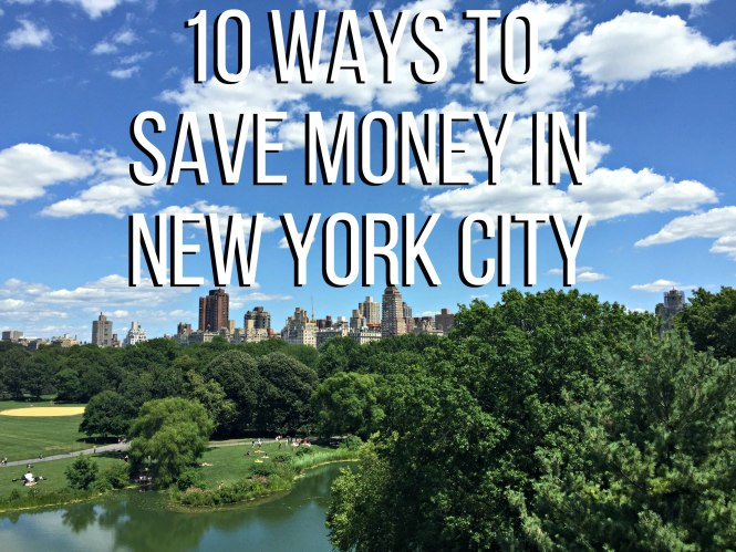 10 ways to save money in NYC