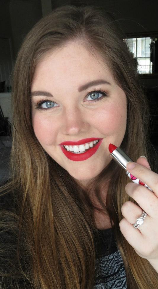 Clinique Long Last Soft Matte Lipstick Matte Crimson 9