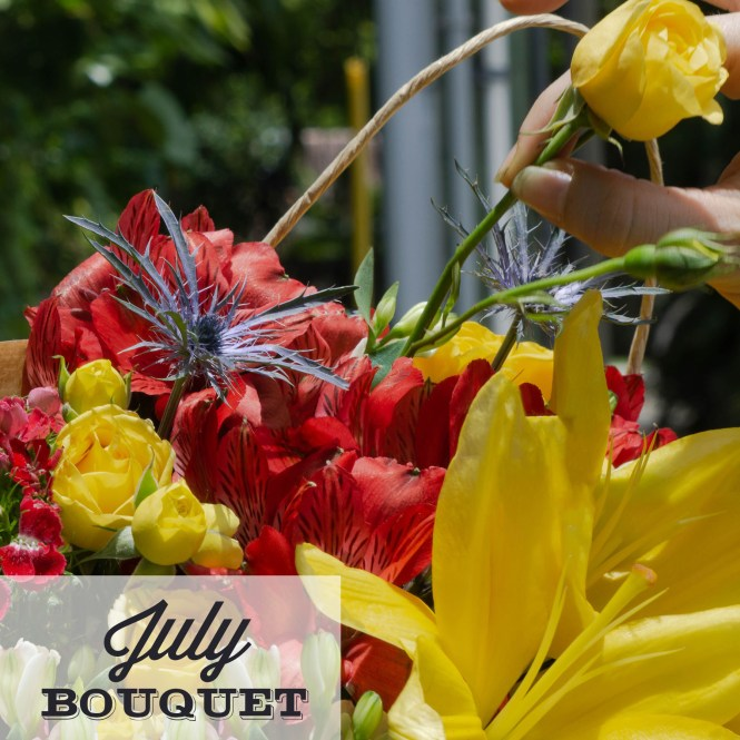 Lone Star Living July Bouquet