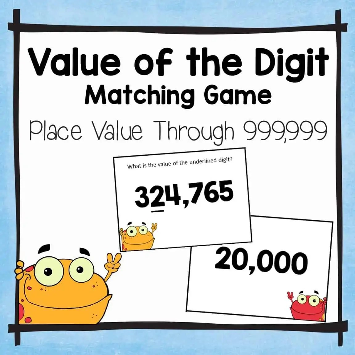 Value Of The Digit Matching Games