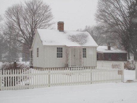 Herbert Hoover's birthplace cottage, Hoover National Historic Site.