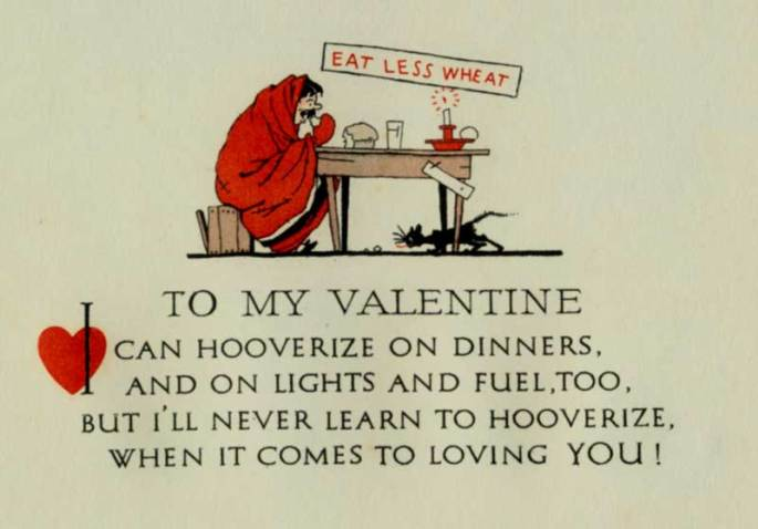 A valentine from the Hoover collections.