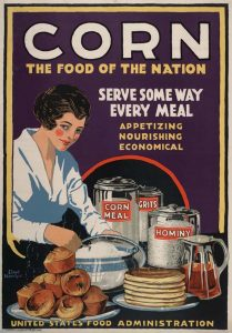 United States Food Administration poster.