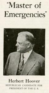 Master of Emergencies silent film promoting Hoover's presidency in 1928.