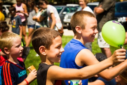 Youth having fun at Hoover's Hometown Days
