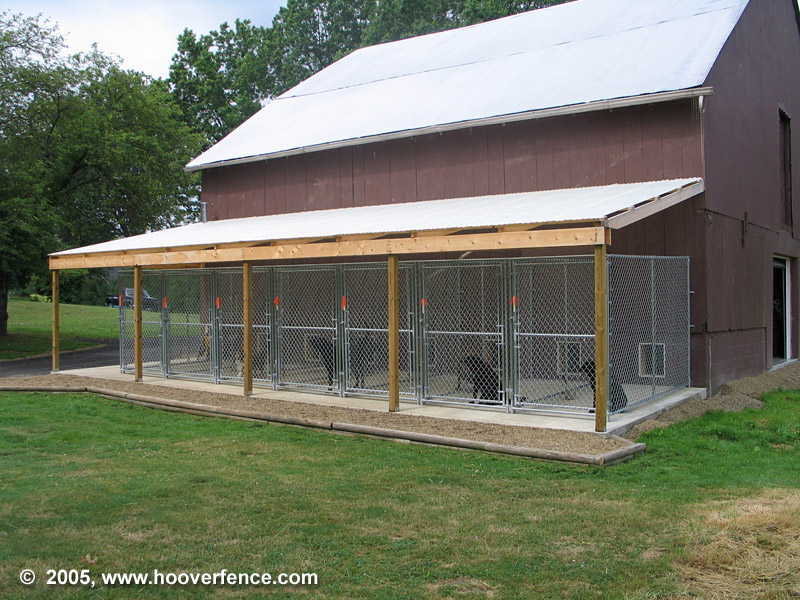 HFC Dog Kennel Installation Photos