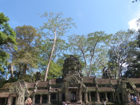 One of the entrances to Preah Khan