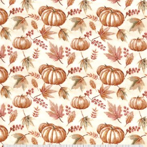 watercolor pumpkins napkins
