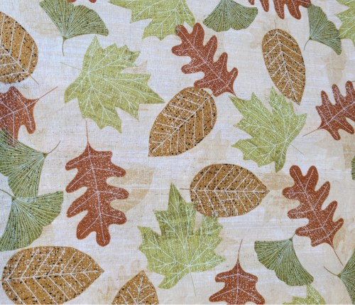 cascading leaves