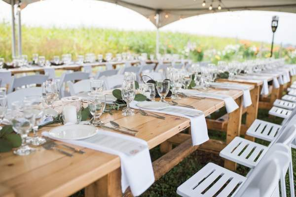 longtable event at hopcott farms